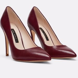 Zara Leather Pointed Toe Pumps